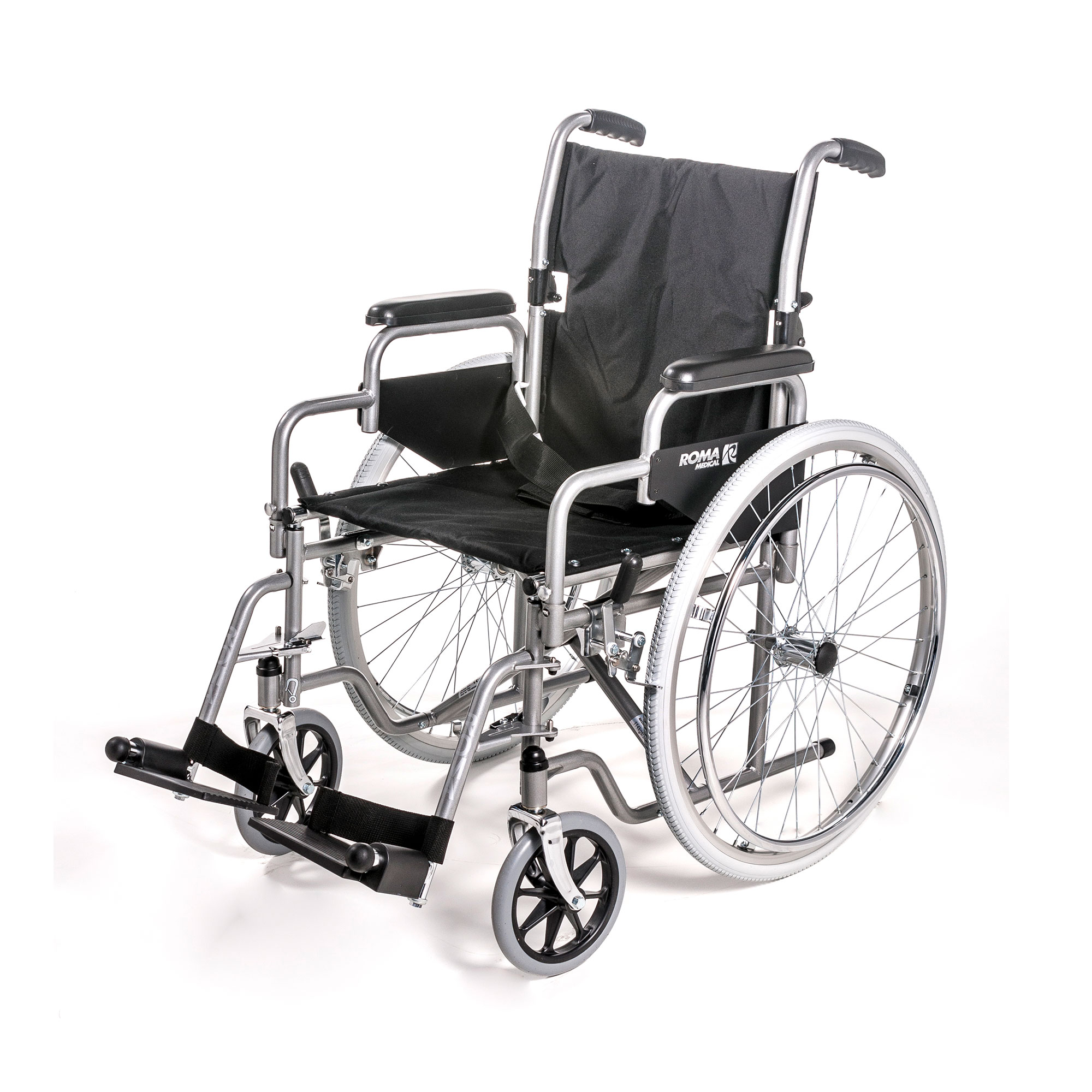1050: Self-Propelled Wheelchair with Flipback Arms