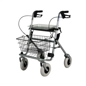 2410 : Safety Walker 4 Wheel Rollator