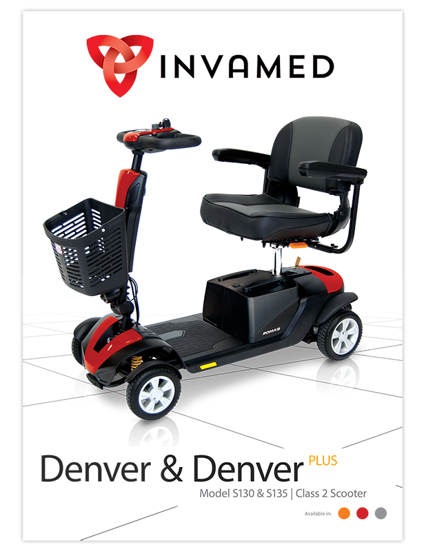 Roma Denver Mobility Boot Scooter